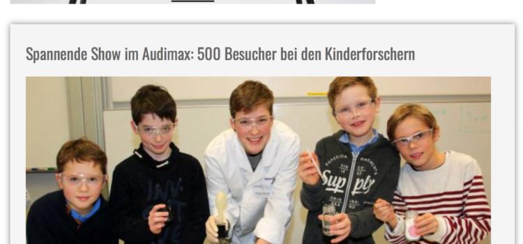 """Pressebericht zur """"Experimentieren & Forscher"""" Abschlussveranstaltung"""