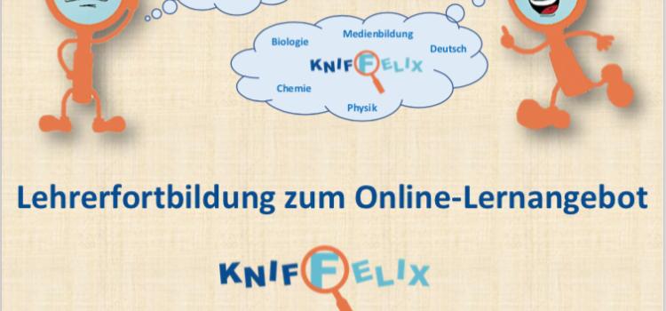 Fortbildung zum Online-Experimentier-Angebot Kniffelix