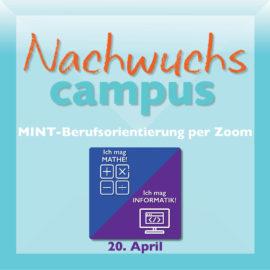 MINT-Berufsorientierungs-Veranstaltung am 20.4.