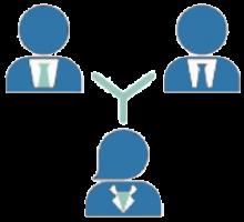 Gruppenarbeit - ZLL - blau