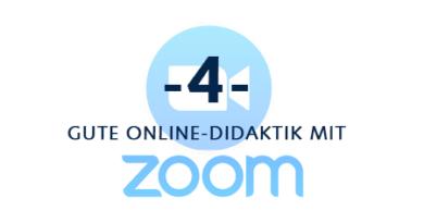 Feedback Geben mit Zoom (und Prüfen mit BigBlueButton)