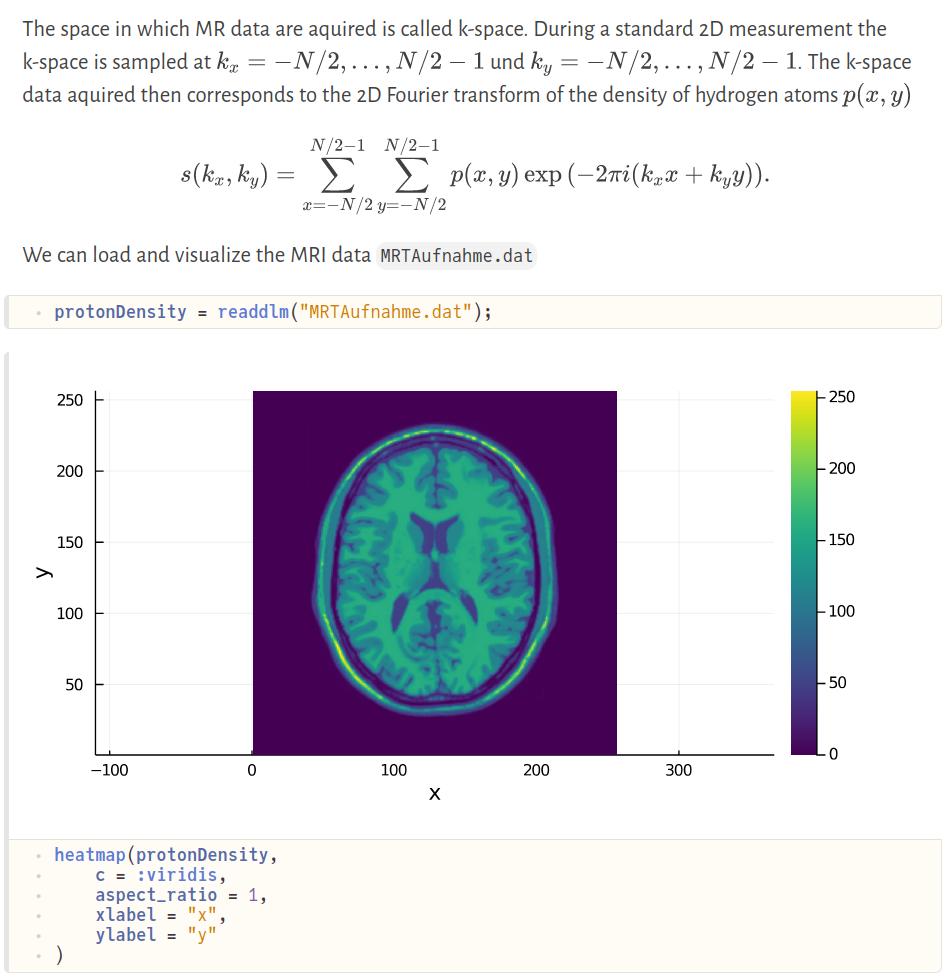 Ein Bild von einem Notebook mit Visualisierungen