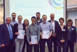 Preisträger mit Präsidium und ZLL