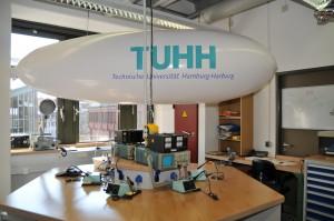 Luftschiff aus dem Bachelor-Projekt