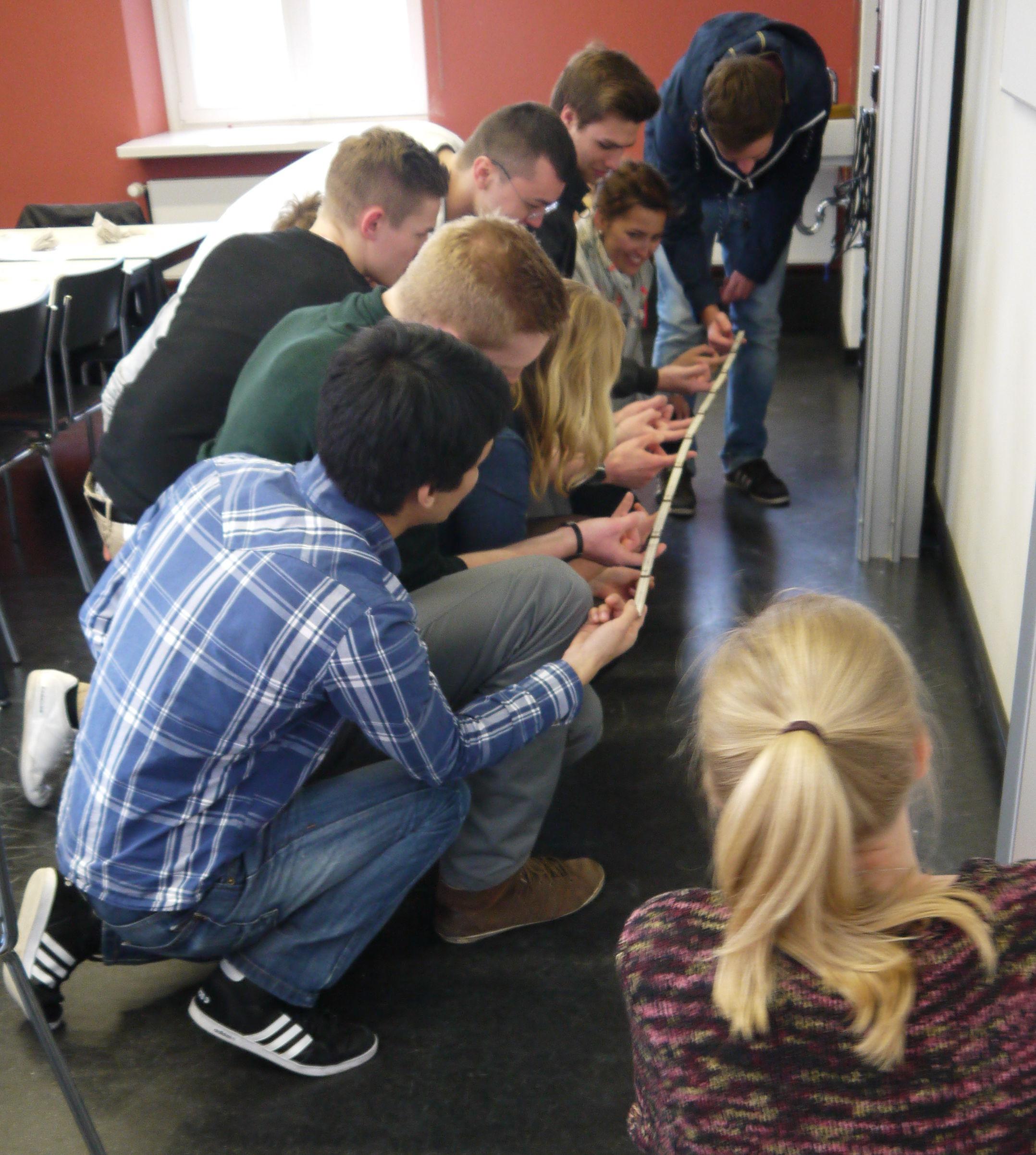 Übung zum Thema Gruppendynamik