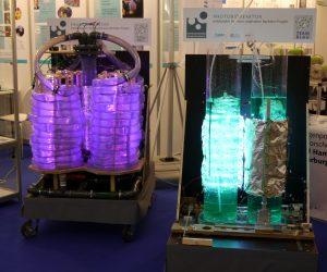 Photobioreaktoren auf der ACHEMA 2015